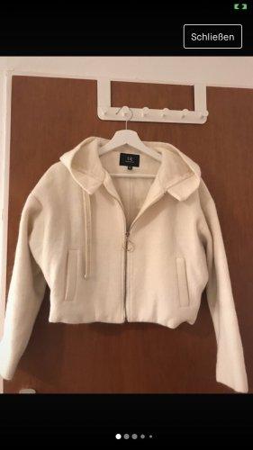 Manteau court blanc