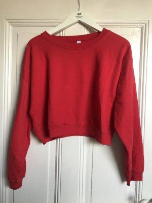 Kurz-Pullover / Cropped Sweatshirt American Apparel