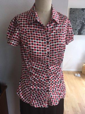 Kurzärmelige Bluse, Gr. XL