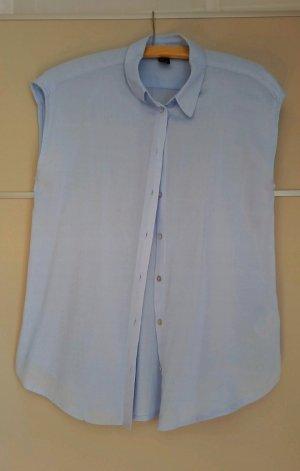 H&M Short Sleeved Blouse light blue
