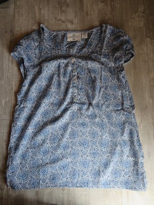 H&M L.O.G.G. Short Sleeved Blouse multicolored cotton