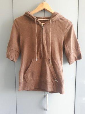 H&M Camicia con cappuccio marrone
