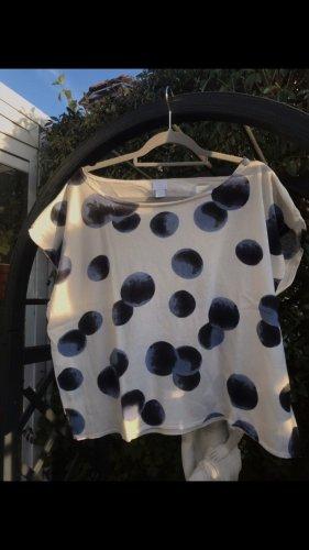 Alba Moda Sweater met korte mouwen veelkleurig