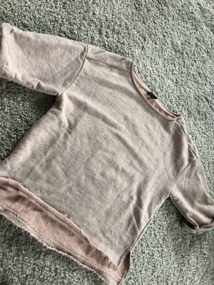 Kurzärmliger Pullover