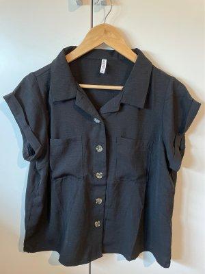 Colloseum Short Sleeve Shirt black-light brown
