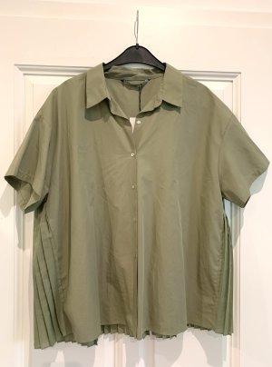 Kurzärmliges Oversize-Hemd