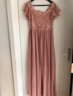 Forever Unique Evening Dress rose-gold-coloured