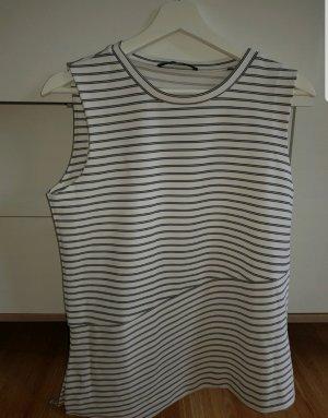 someday Camisa de manga corta blanco-azul oscuro