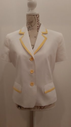 Apart Jersey Blazer white-yellow