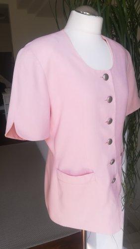 Heine Blazer court rosé tissu mixte