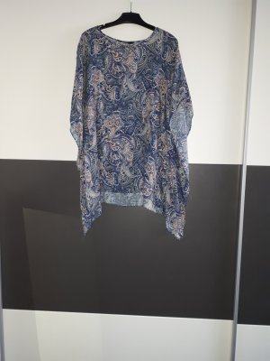 LC Waikiki Cowl-Neck Shirt pink-cornflower blue