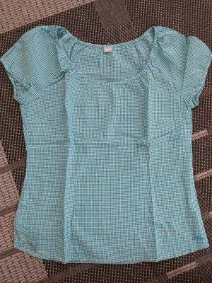 Kurzarm Bluse aus 100% Baumwolle