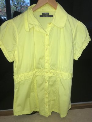 BlendShe Short Sleeved Blouse yellow