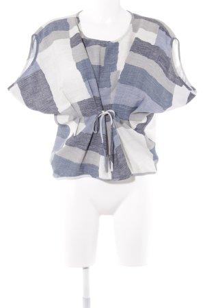 Kurzarm-Bluse Colourblocking Casual-Look