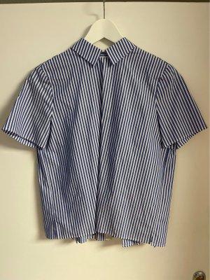 Kurzarm Bluse gestreift von Set Fashion