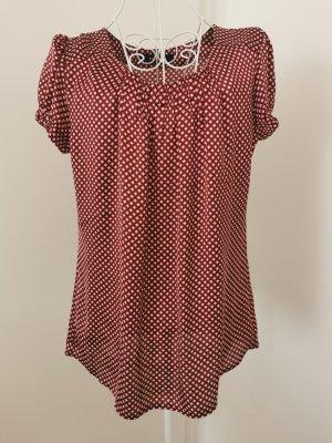 Kurzarm Bluse Karos shirt