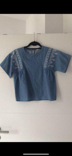 Kurzarm bluse tshirt