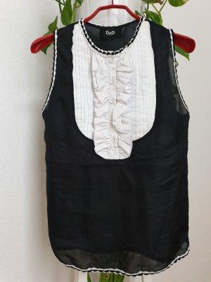 Kurzarm Bluse von Dolce und Gabbana