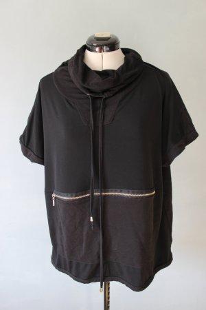 Kurzarm Hoodie mit Reißverschlusstasche