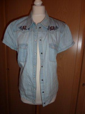 Esprit Blouse en jean bleu