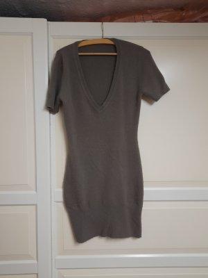 Vestito di lana marrone chiaro