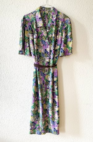 Kurzarm Kleid mir 80er Jahre Print