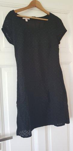 Kurzarm Kleid mit Taschen