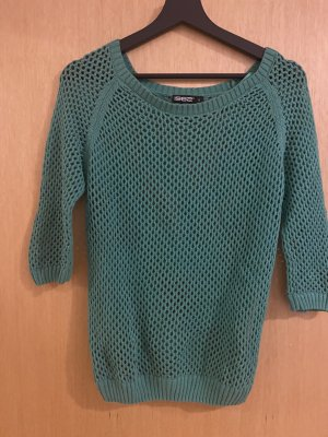 1982 Short Sleeve Sweater forest green