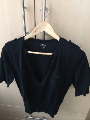 APT.9 Sweter z krótkim rękawem czarny