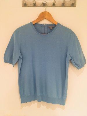 Kurzarm-Pullover in blau von COS in Größe 38 (M)