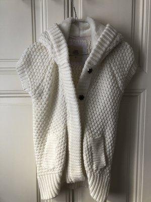 Zara Knit Short Sleeve Knitted Jacket multicolored