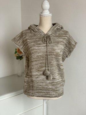 Kurzarm Pullover mit Kapuze
