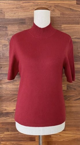 Christian Berg Short Sleeve Sweater neon red viscose