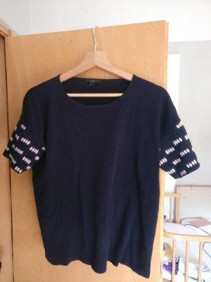 Kurzarm Pullover von COS * Gr. S * navy