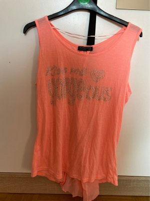Blind Date Muscle Shirt salmon