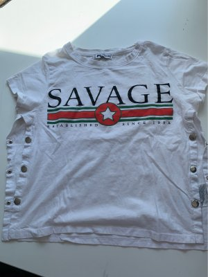 Kurzarm Shirt, bedruckt