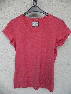 Peckott T-Shirt bright red mixture fibre
