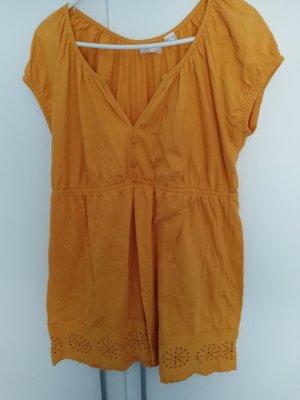 bpc Blouse à manches courtes orange doré-orange clair
