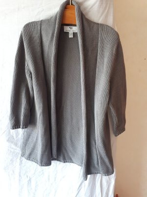 Peter Hahn Short Sleeve Knitted Jacket grey
