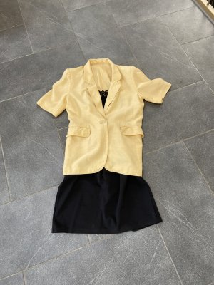 Tuzzi Jersey blazer geel