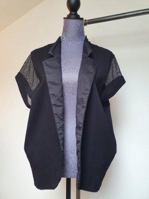 COS Blazer in jersey nero