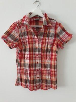 Multiblu Geruite blouse veelkleurig