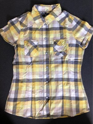 BlendShe Short Sleeved Blouse multicolored