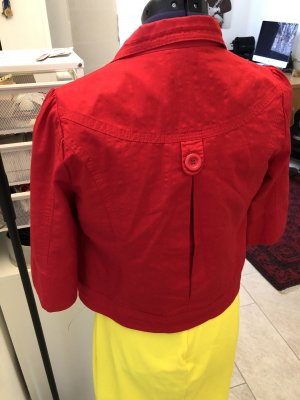 Short Jacket red