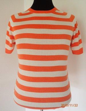 Tommy Hilfiger Sweater met korte mouwen licht Oranje Zijde