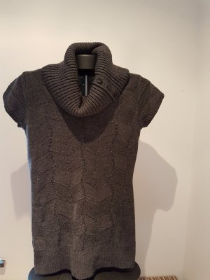Aniston Pull-over à col roulé gris anthracite