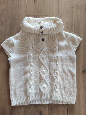 Vero Moda Short Sleeve Sweater white
