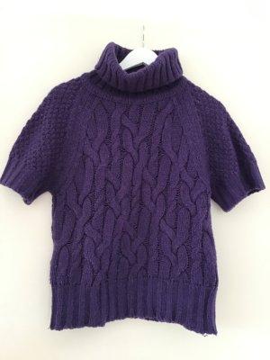 Benetton Jersey de manga corta violeta oscuro
