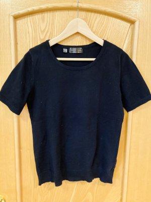 bpc selection Short Sleeve Sweater black cotton
