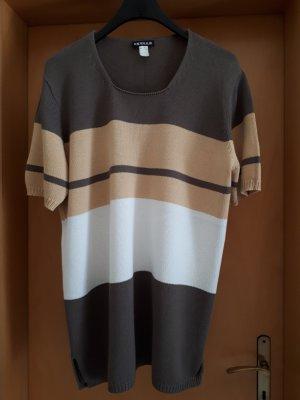 Short Sleeve Sweater camel